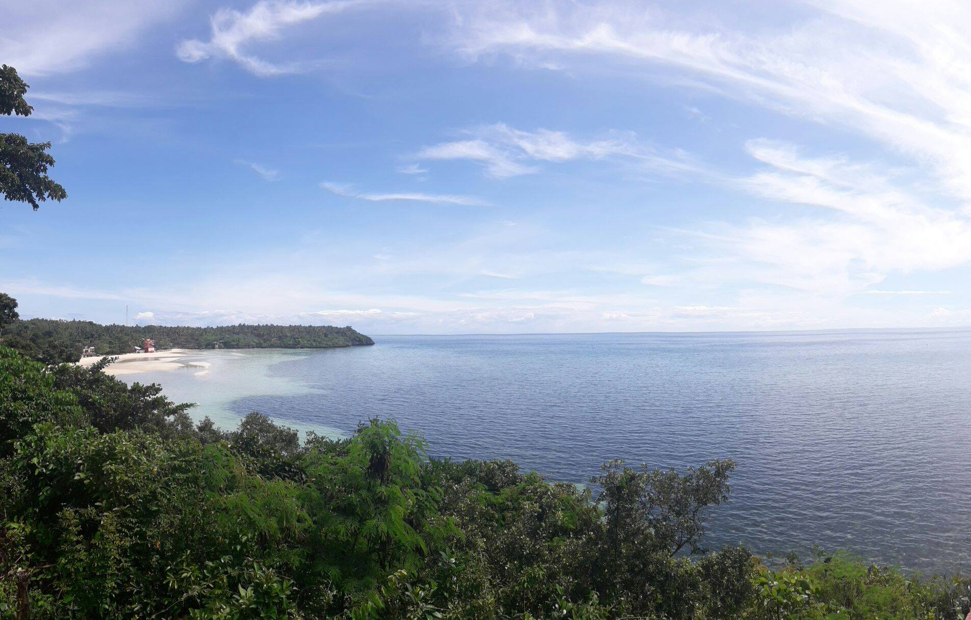 best island in the world camotes
