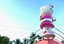 Hello Kitty Resort Boat Design