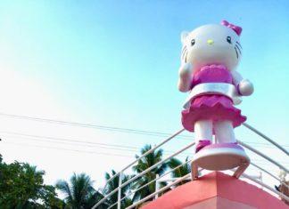 Hello Kitty Resort Boat Design