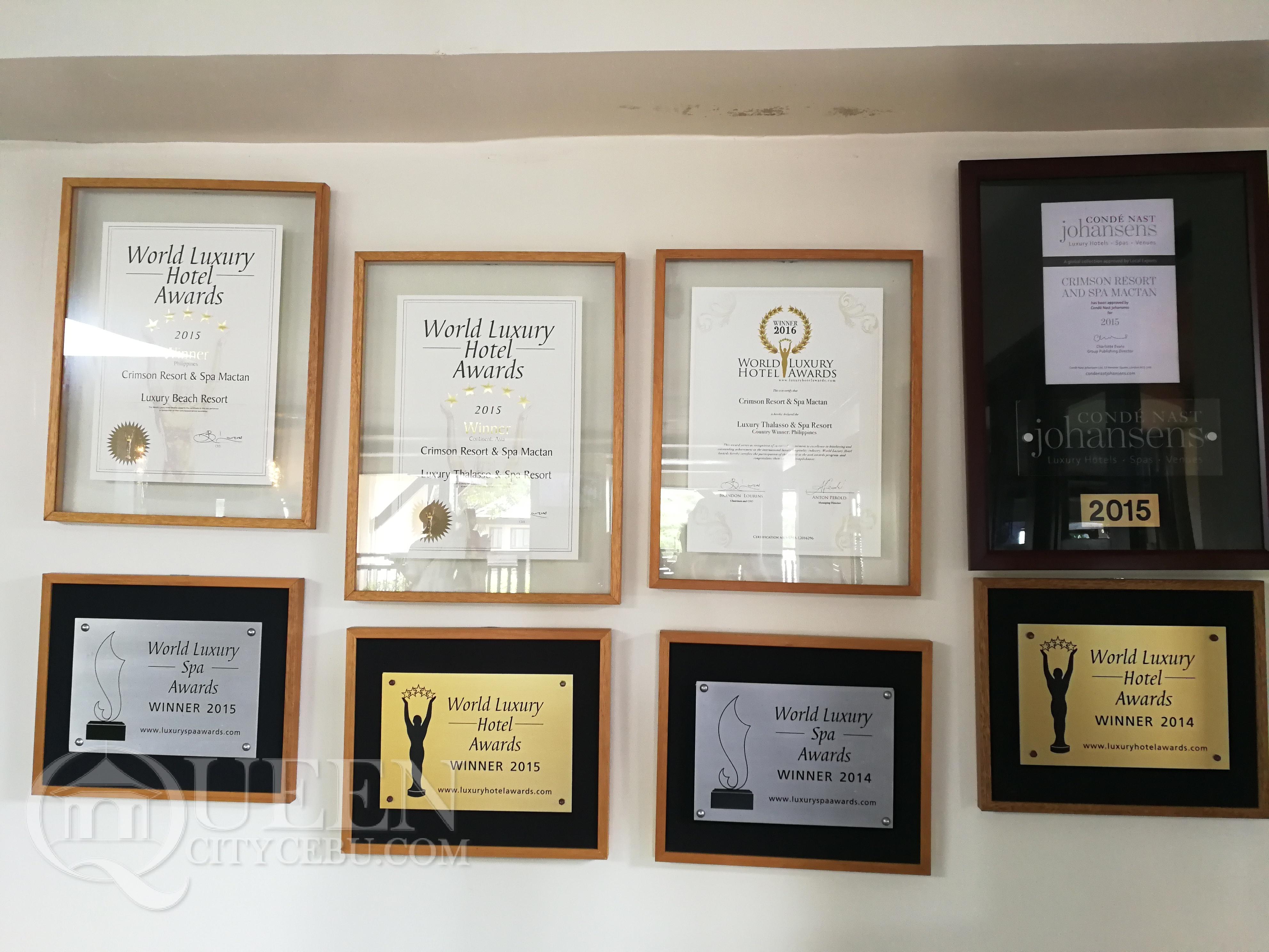 Crimson Resort's Awards