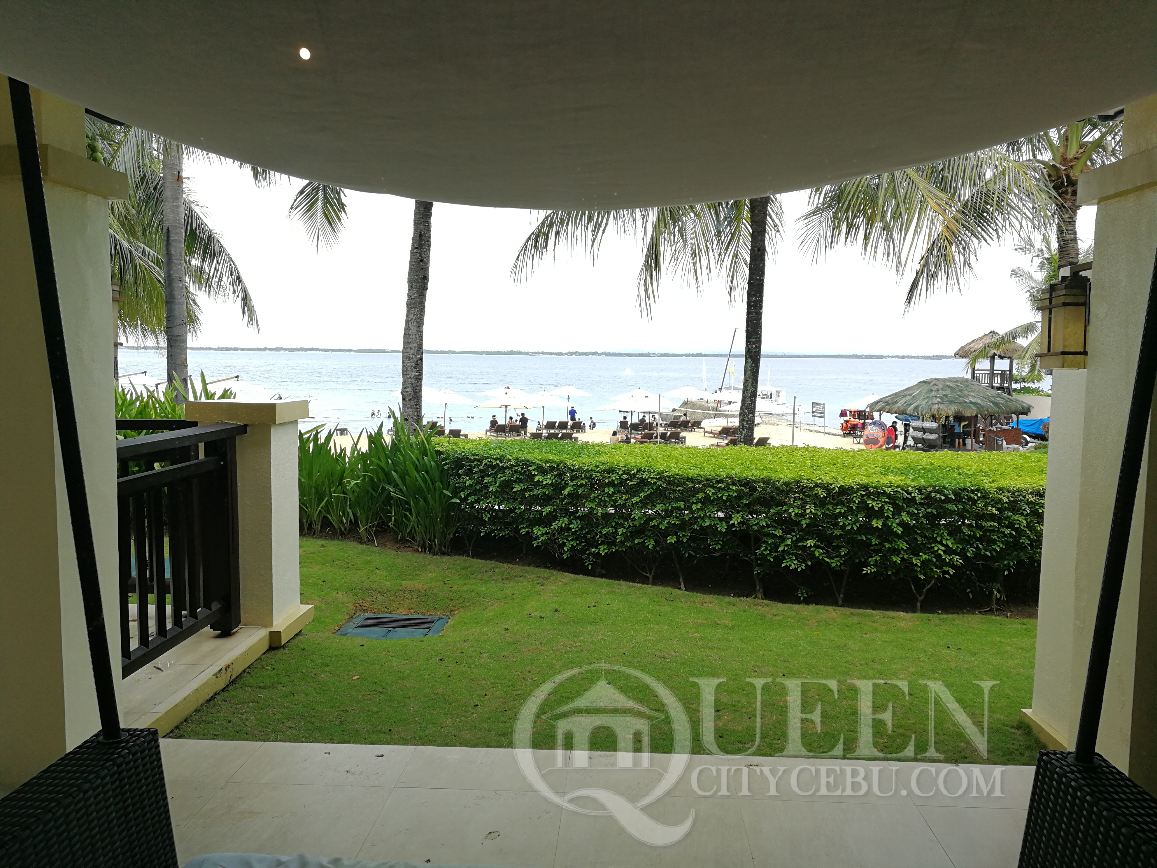 View from the bedroom of Crimson Resort's Beach Casita Villa