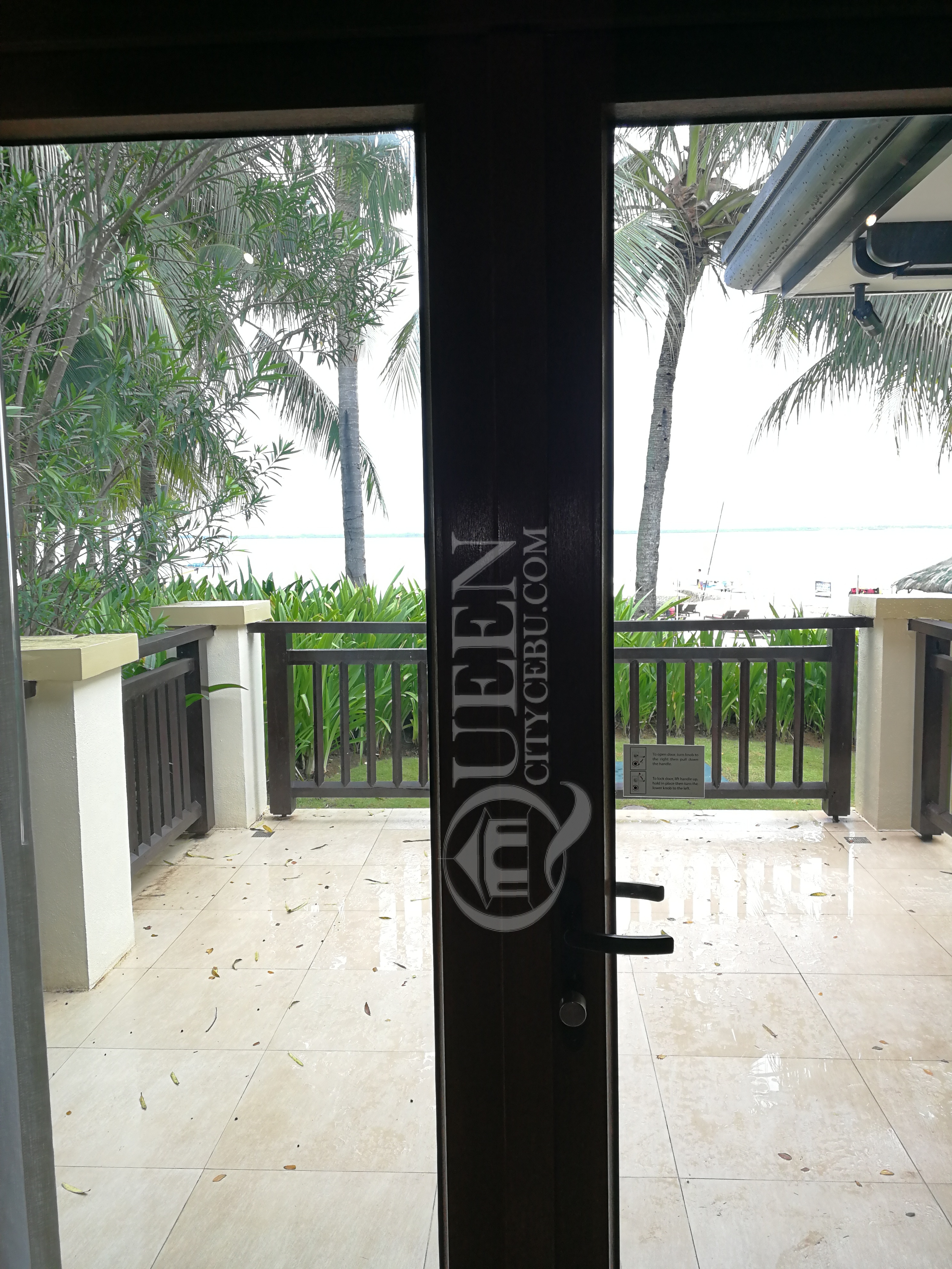 Crimson Resort's Beach Casita Villa Porch