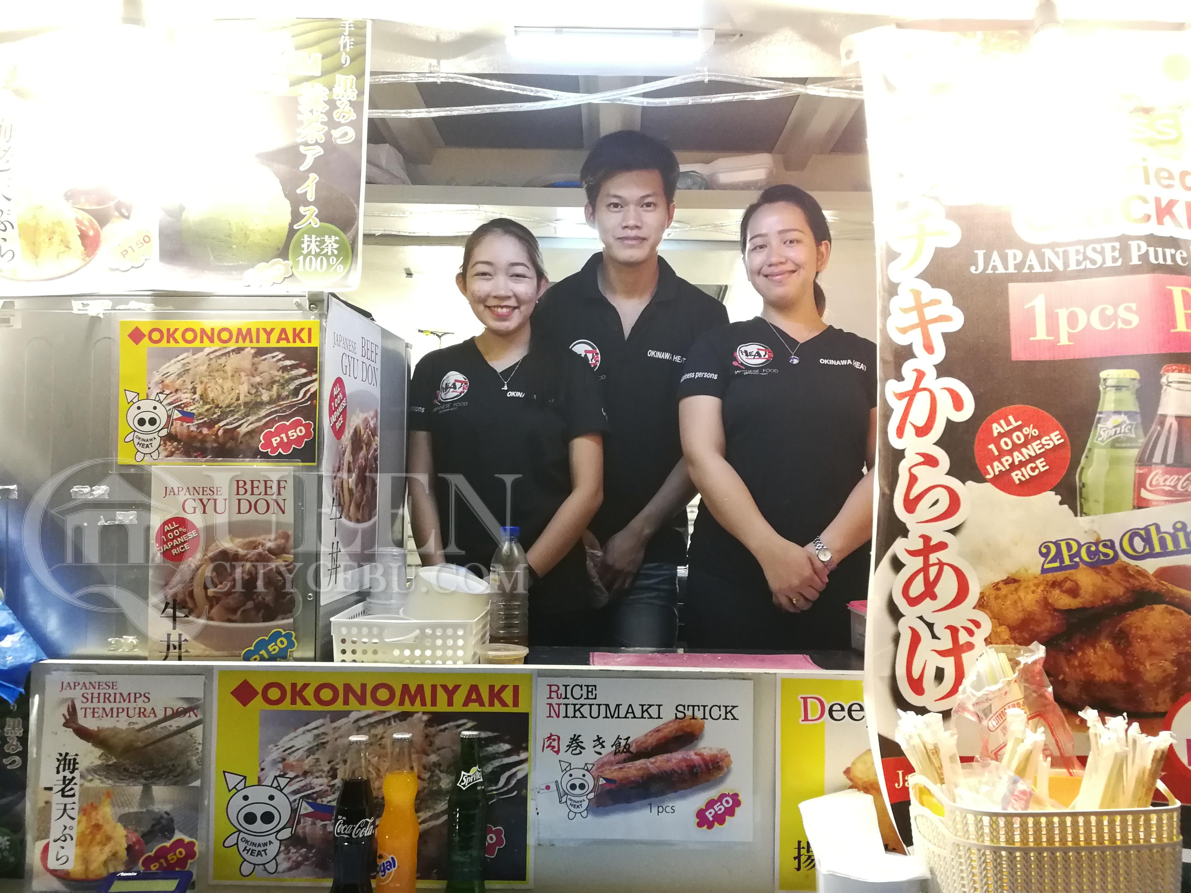 Okinawa Heat Japanese Food Truck Staff