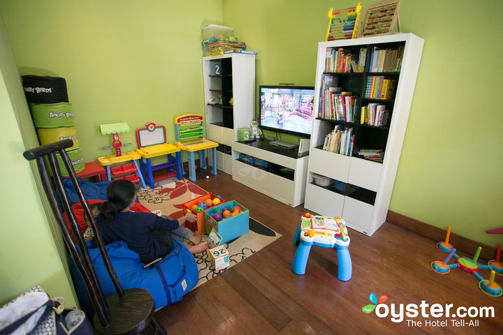 abaca kids playroom with nanny