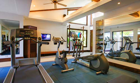 abaca resort gym