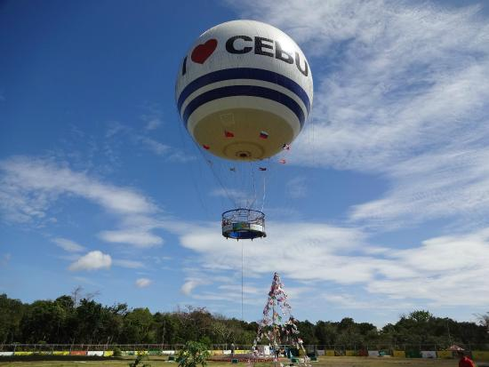 cebu helium balloon ride