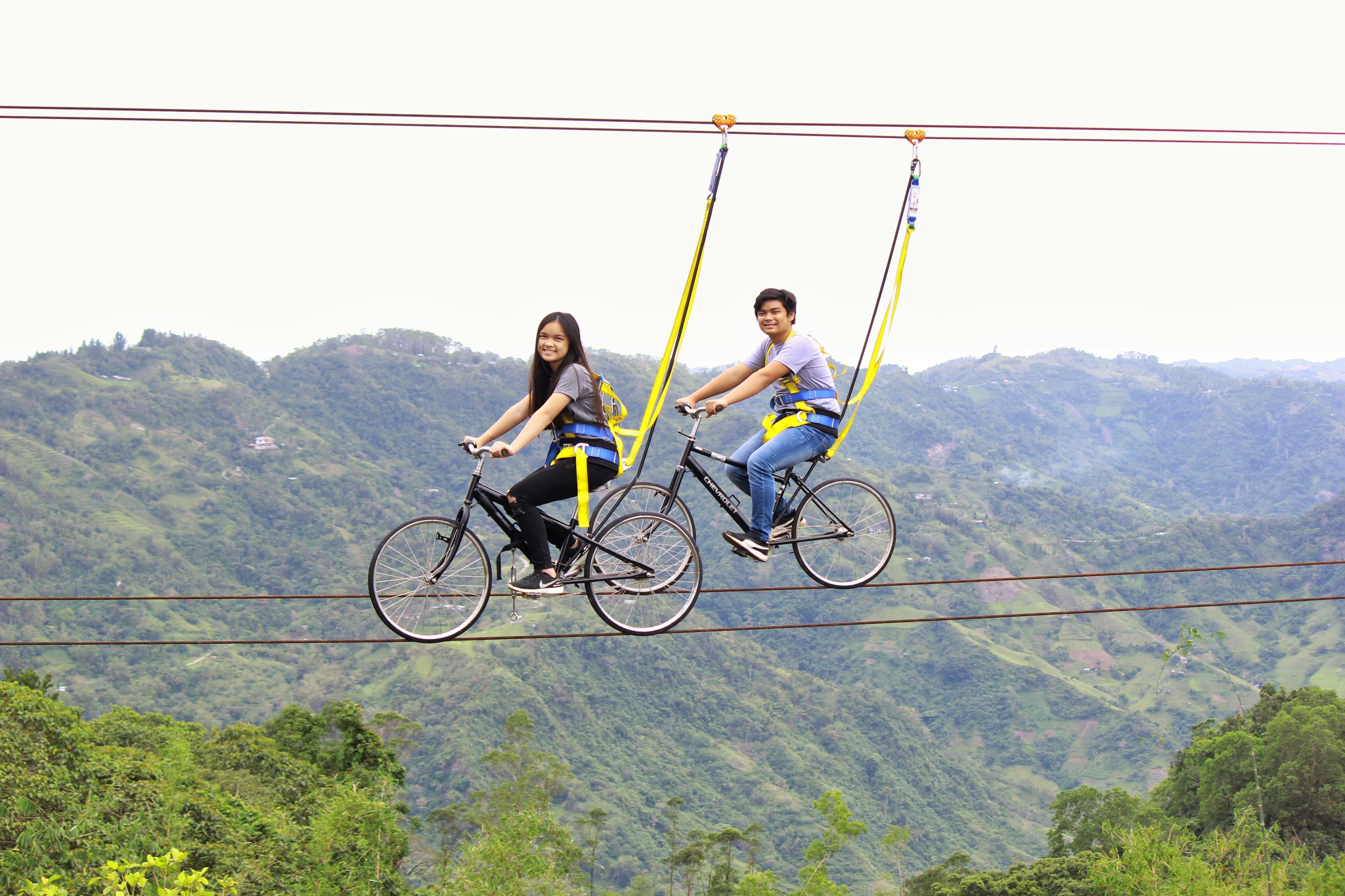 tandem skybiking baguio de cebu