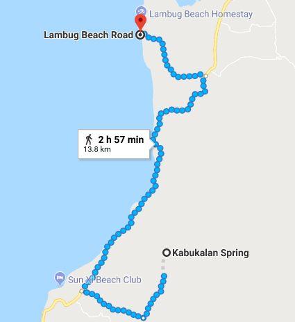 Lambug Map