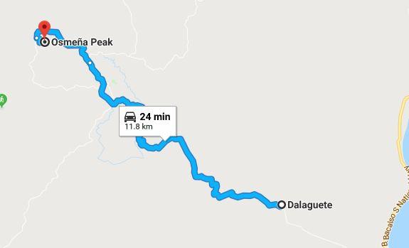 Opeak Map