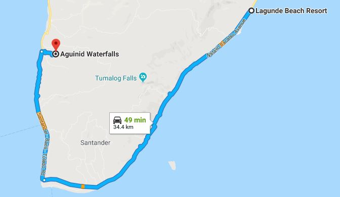 Samboan Map