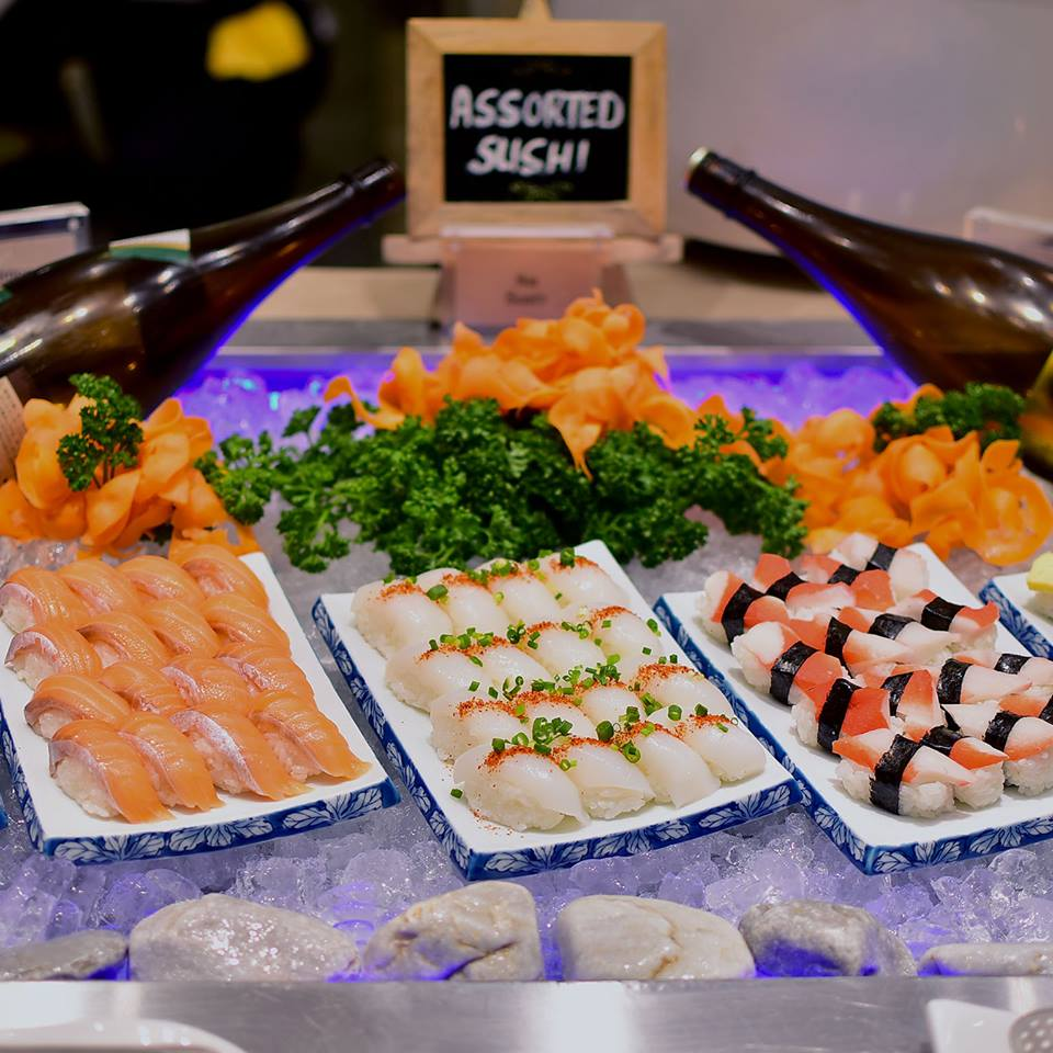 Sushi Bar | Photo by Vikings Luxury Buffet