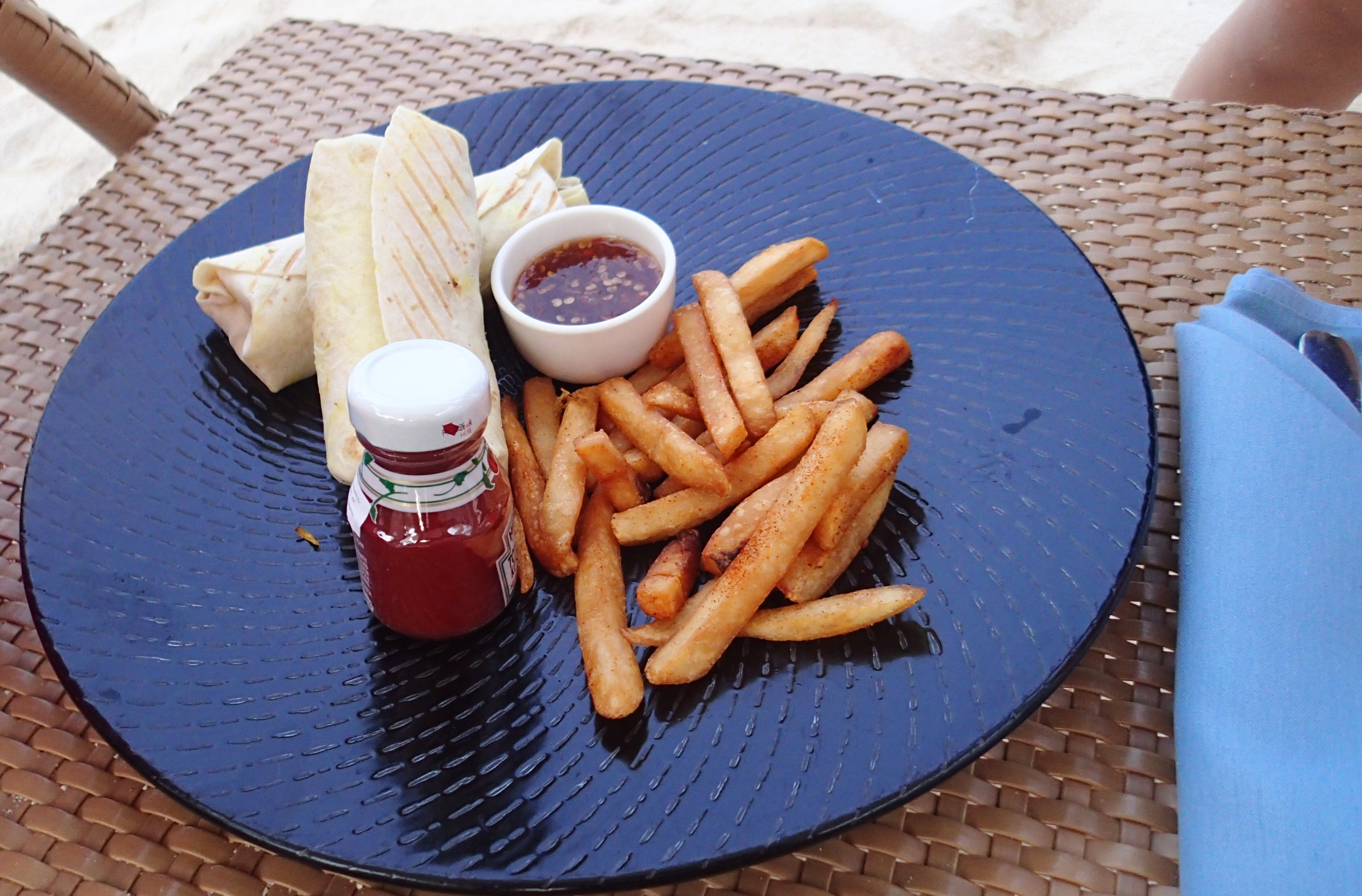 fries at shangrila
