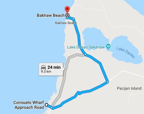 Bakhaw Map