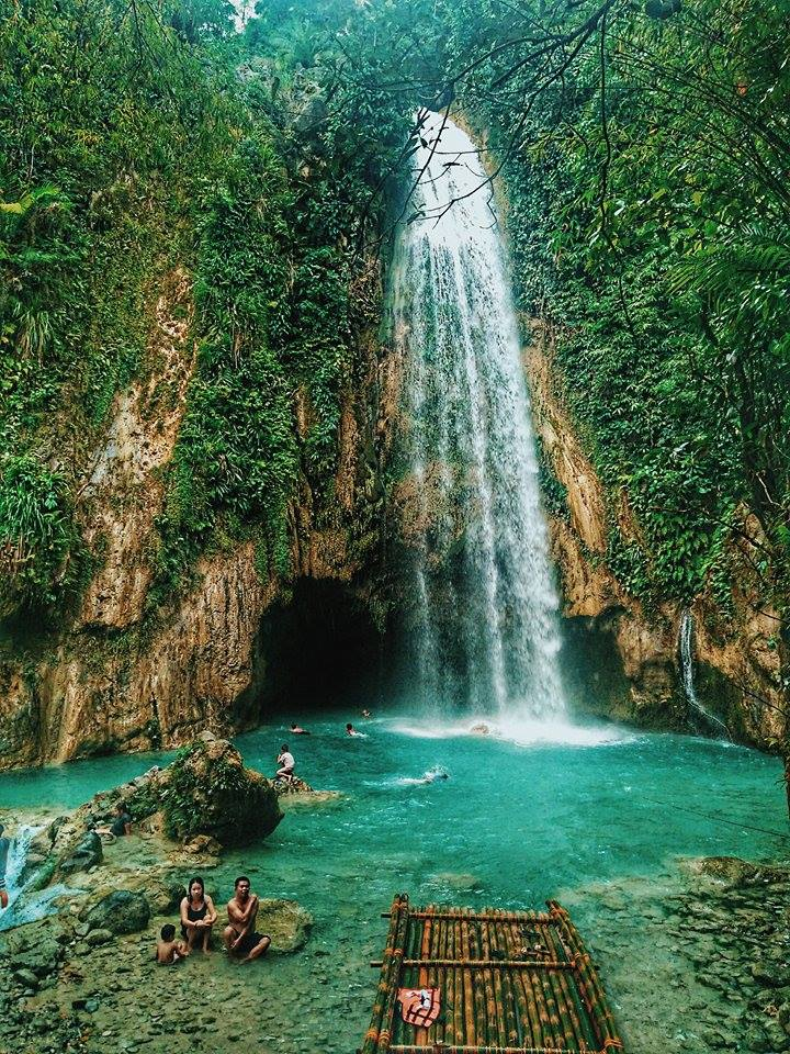 Inambakan Falls, Ginatilan   Photo by Jhem Garcia