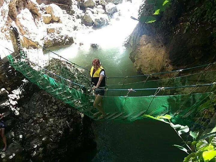 Katinggo Falls Hanging Bridge   Photo by Jordin Cale Briones