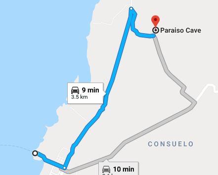 Paraiso Map