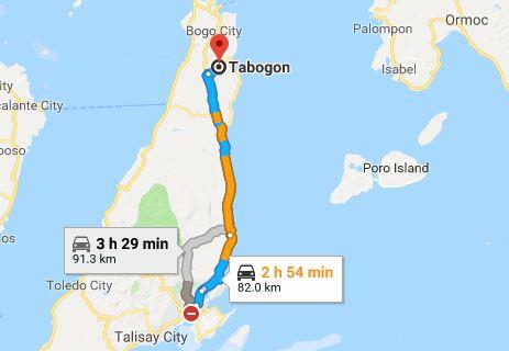 Tabogon Map