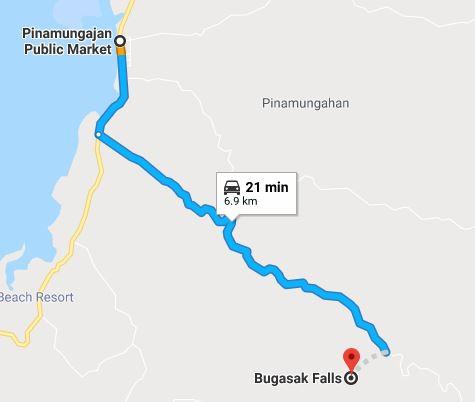 bugasak map