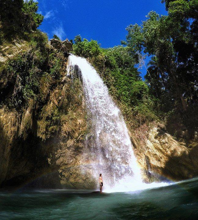 Inambakan Falls, Ginatilan   Photo by Toby Kulot