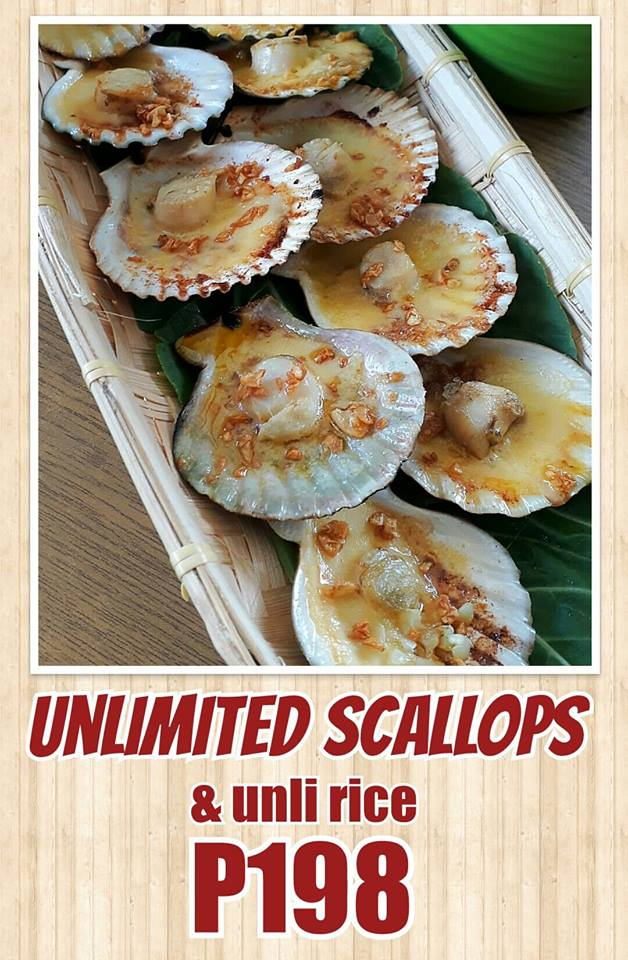 Unlimited Scallops | Iñigo's Resto & Grill