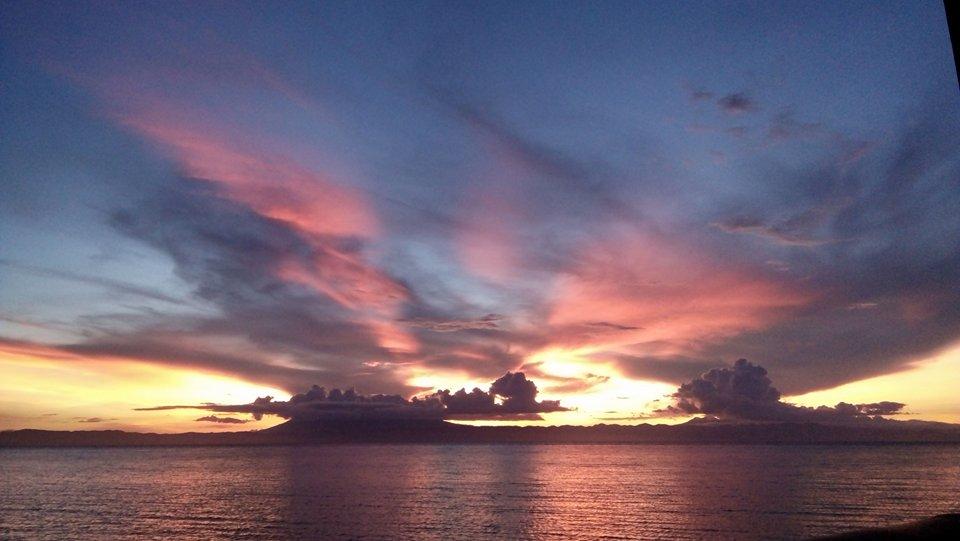 Sunset in Pinamungajan | Photo by Januscelsa Rabor