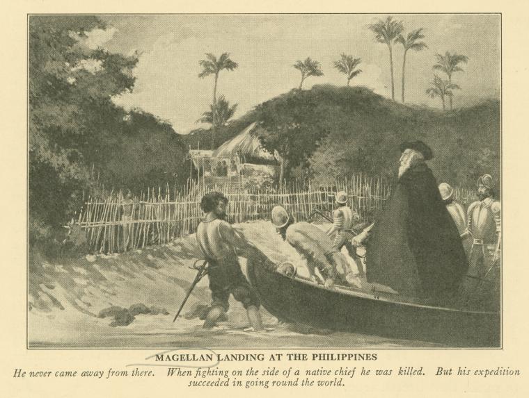 Magellan landing in Cebu Philippines