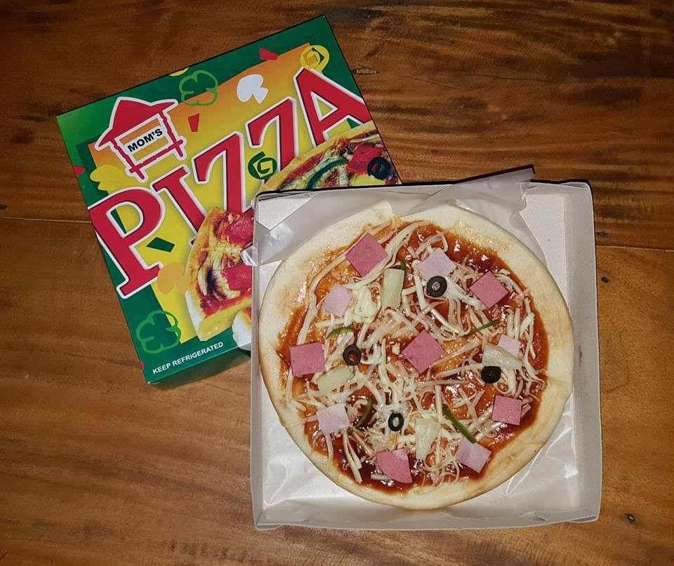 Photo by Mom's Pizza- Cebu