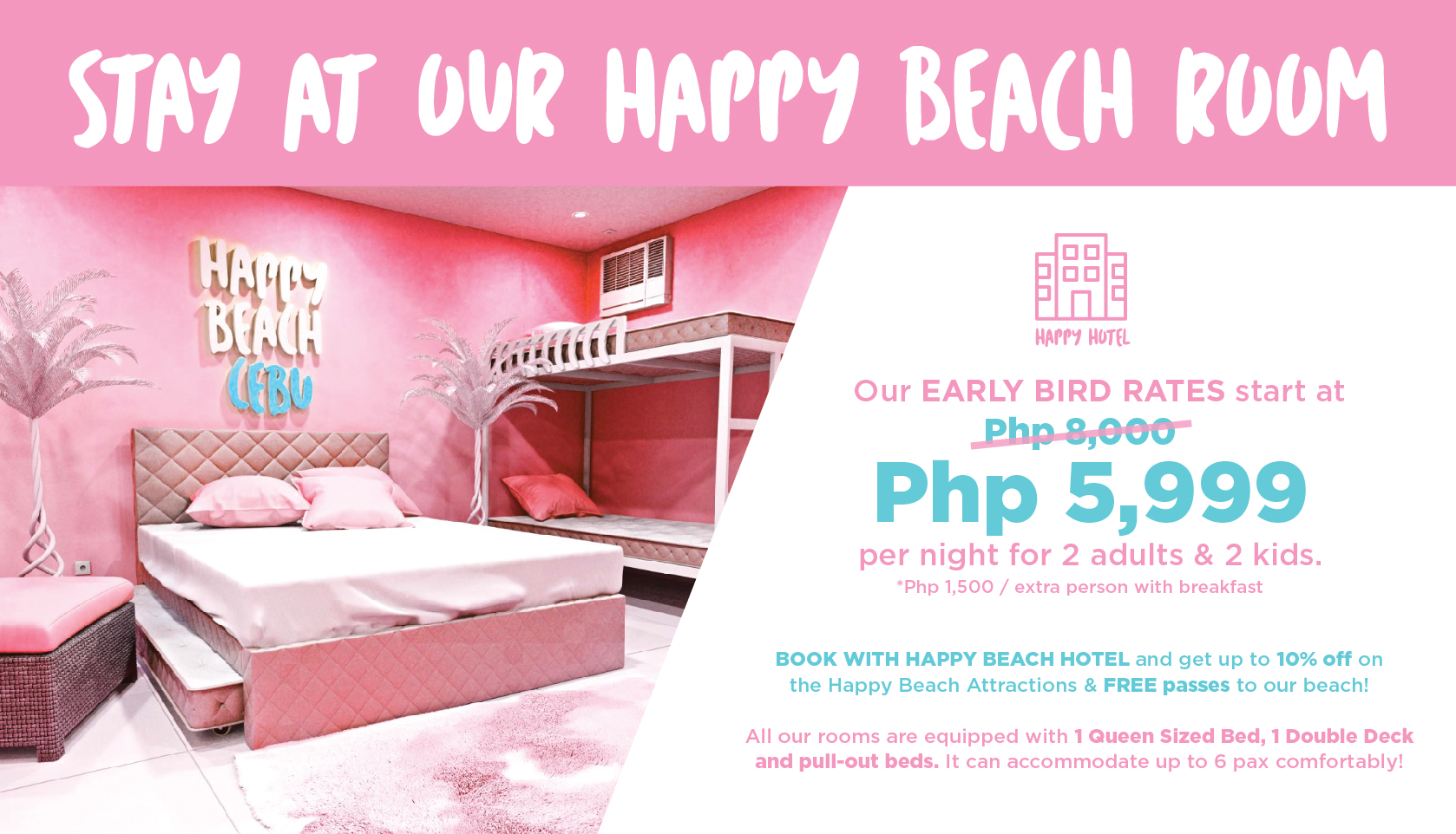 Photo from Happy Beach Cebu