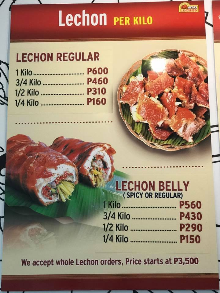 Photo from Ayers Lechon