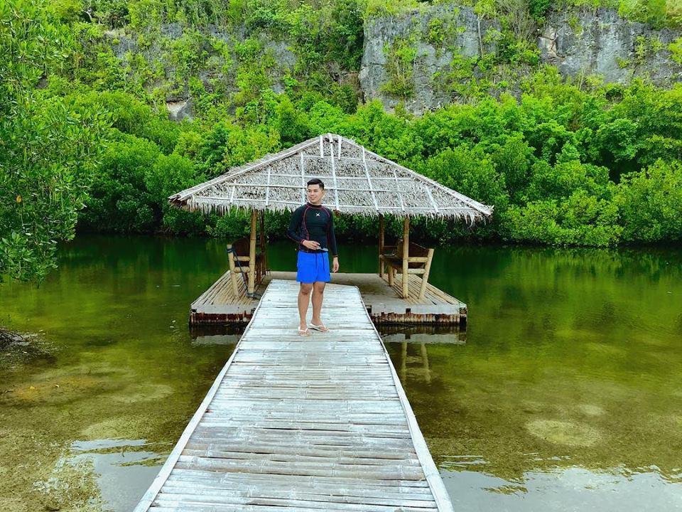 The Lagoon at Sumilon Bluewater Resort. Photo by Daryl de Jabil