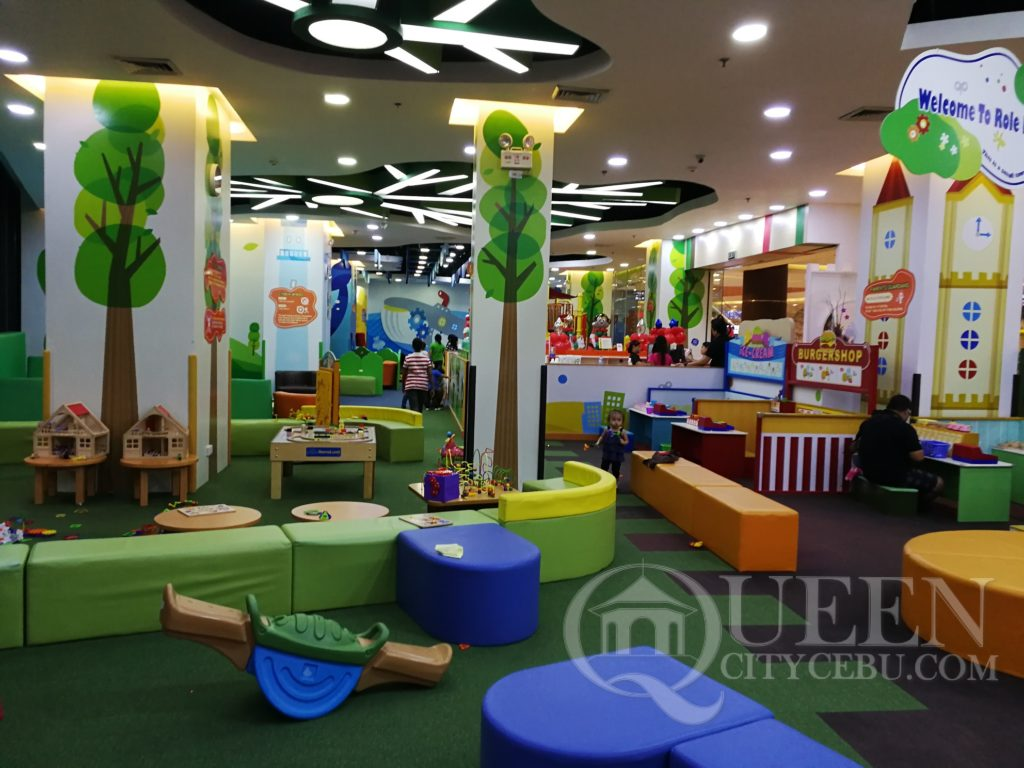 another view of the role play area kidzoona