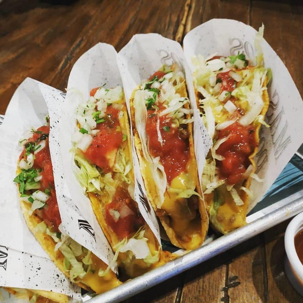 Red Lizard Tacos