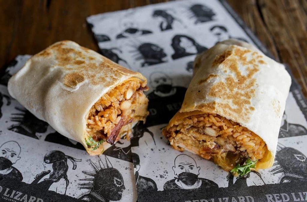 Red Lizard Burrito