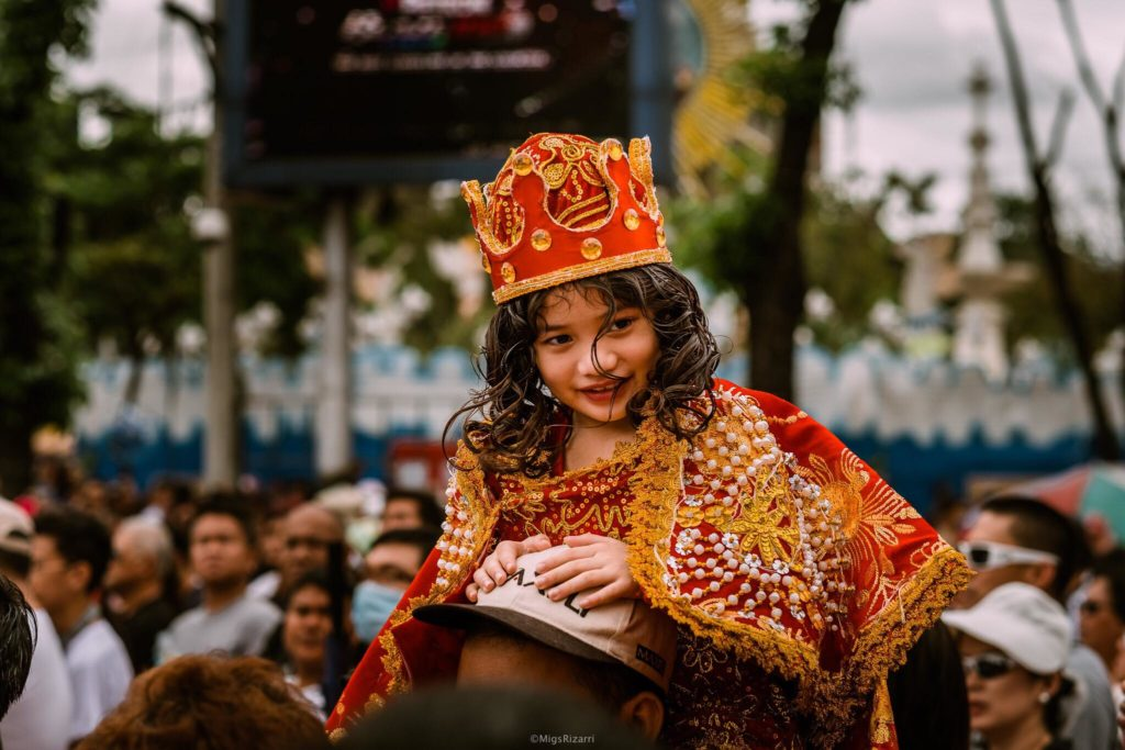 cute sto niño sinulog