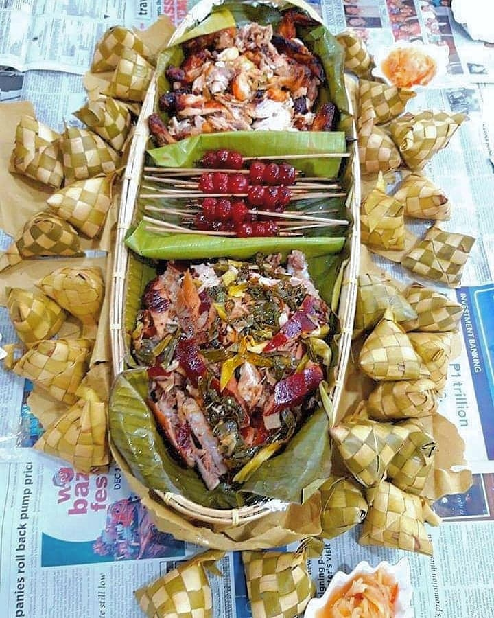 Luz's Inasal Fiesta on a Tray