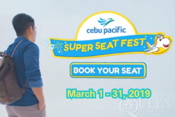 Cebu Pacific Super Seat Fest 2019