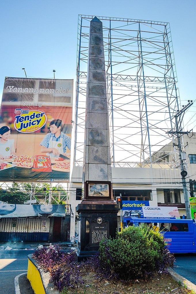 The Colon Obelisk in Colon Street // Photo by Jonathan Blaza