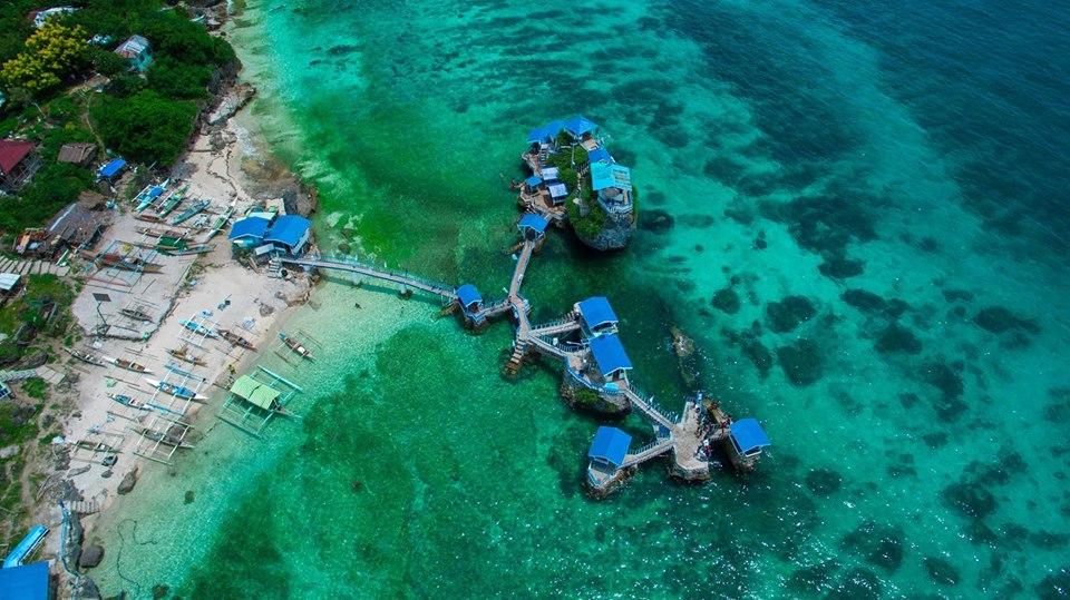 Aerial Shot of Funtastic Island. Photo by Darcy Duane Carungay.