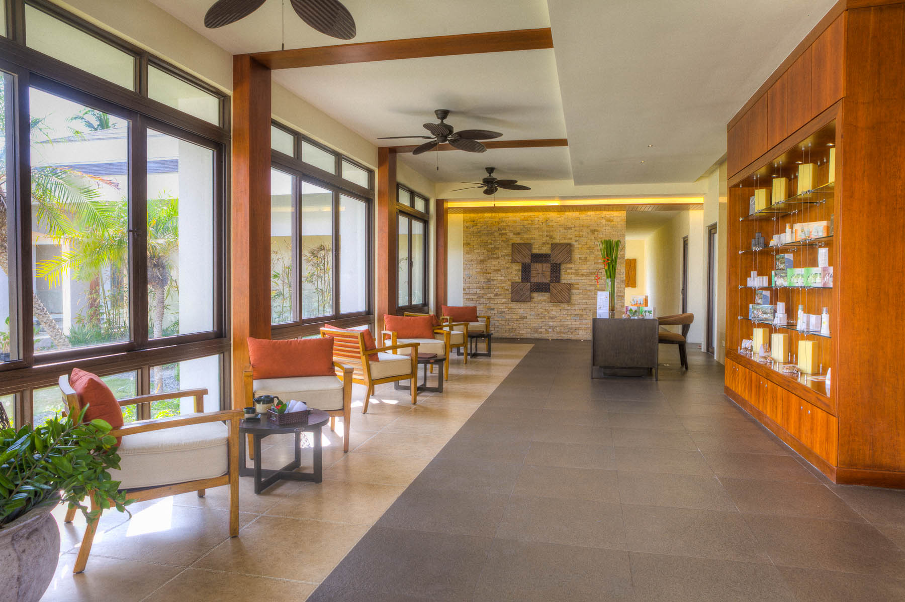 Daya Spa's Reception Area // Photo by Kandaya Resort