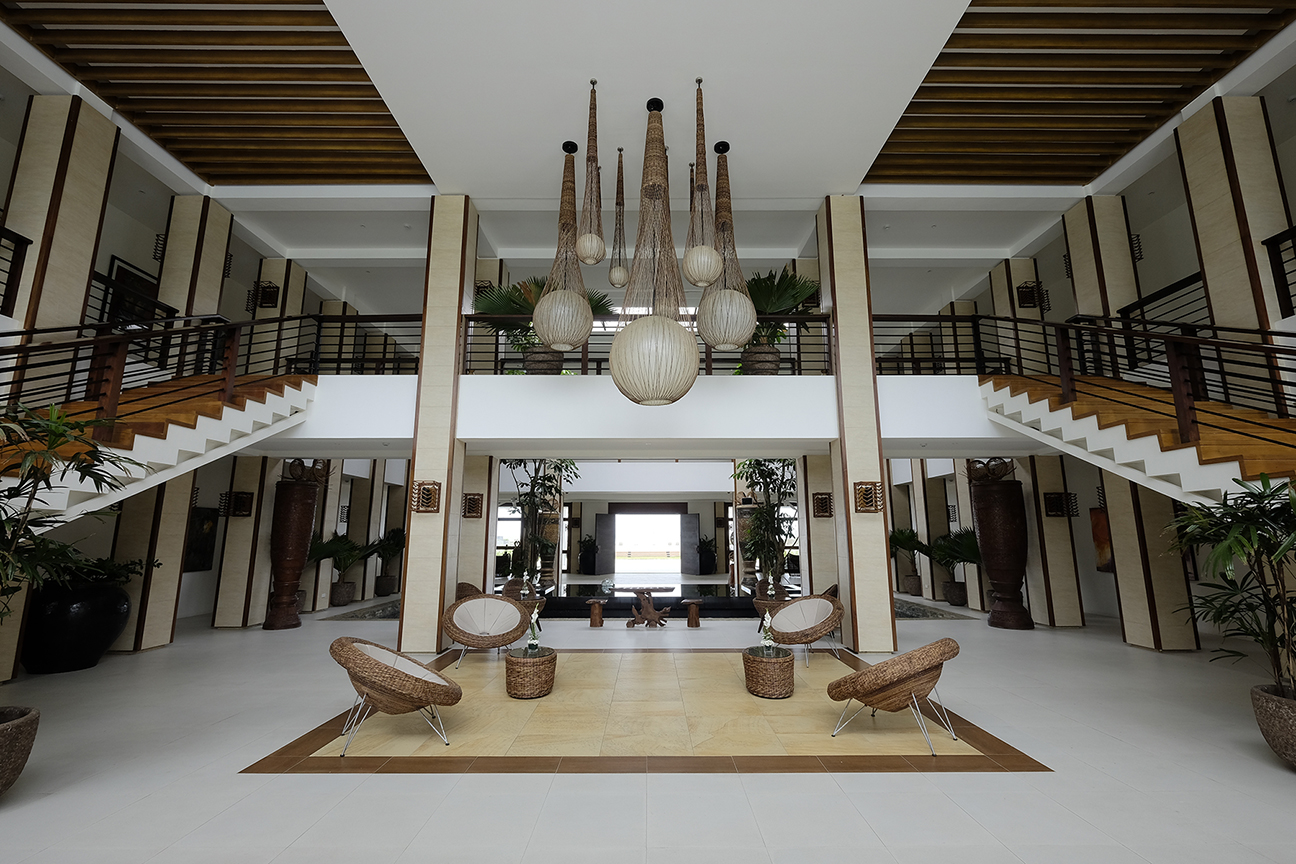 Main building lobby // Photo by Kandaya Resort