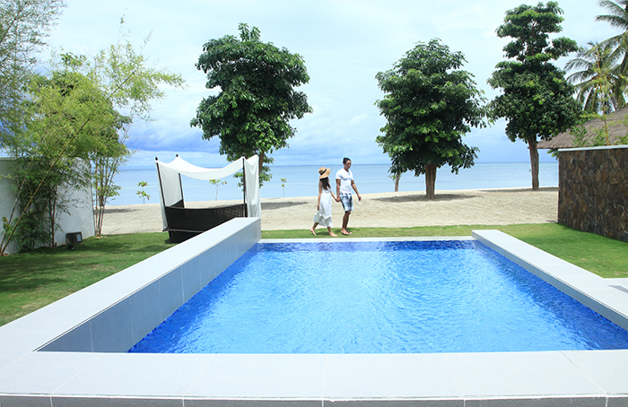 View from the Beach Pool Villa // Photo by Kandaya Resort