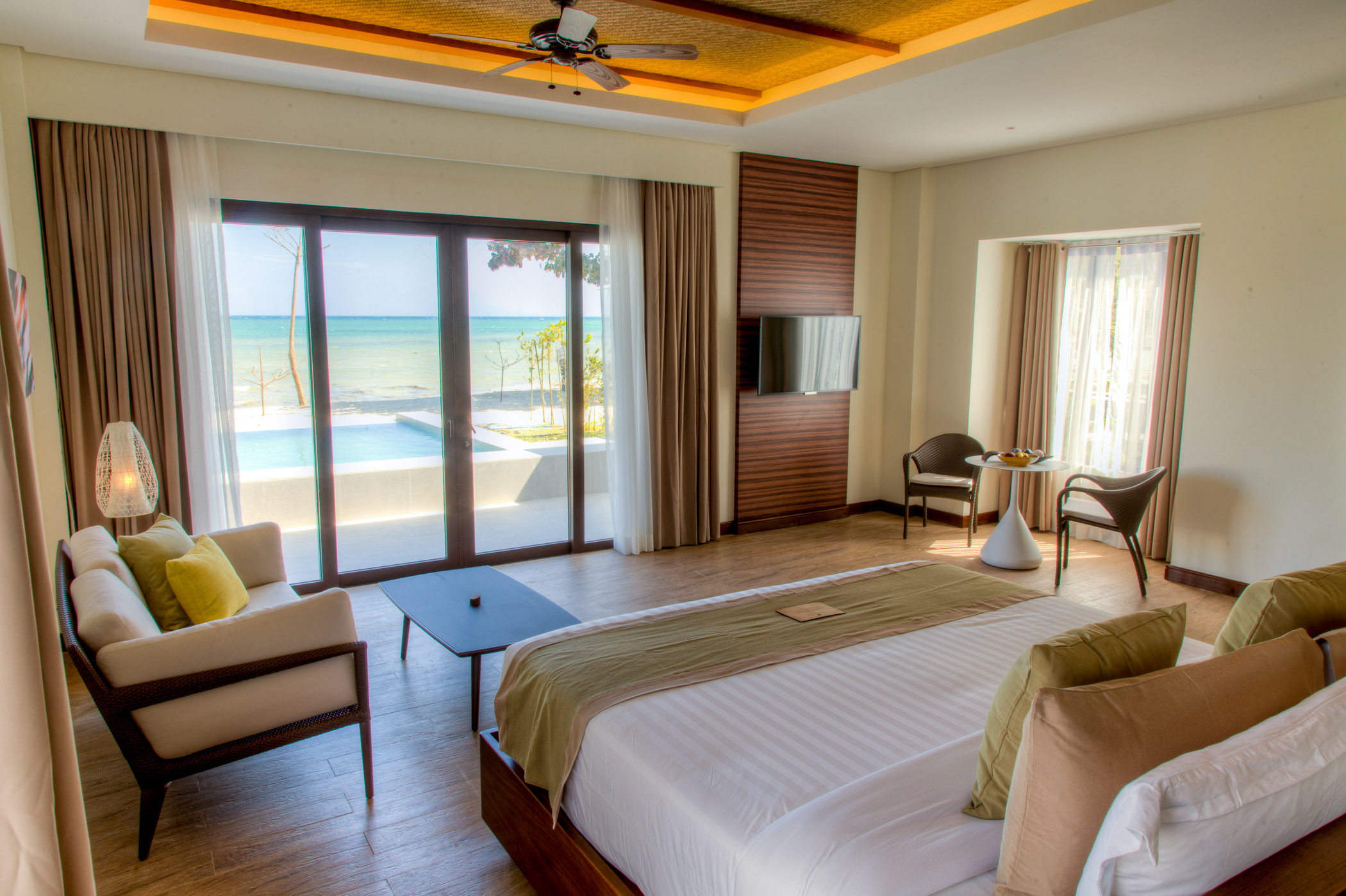 Beach Pool Villa // Photo by Kandaya Resort