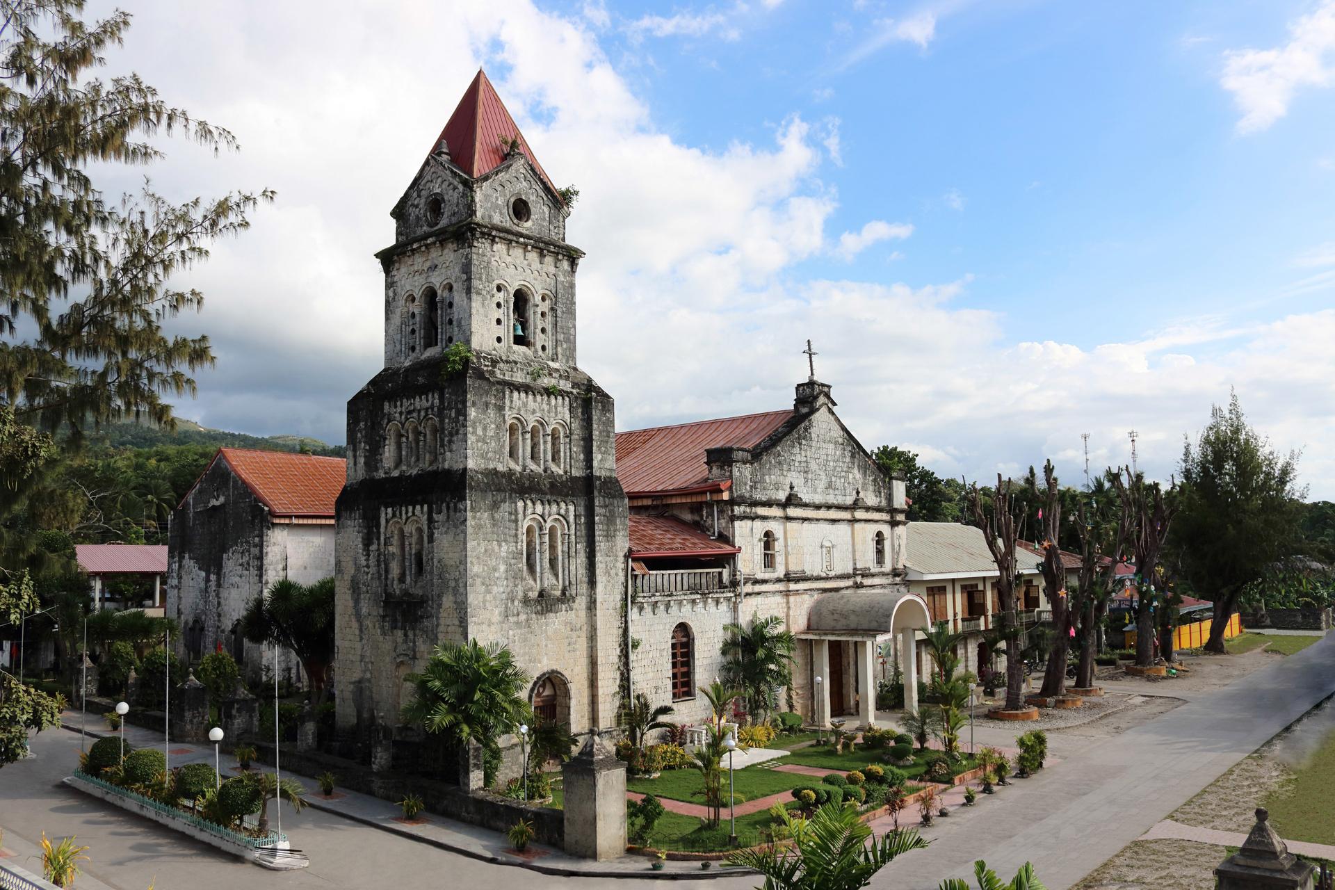San Gregorio Magno Parish Church. Photo from tourism.ginatilancebu