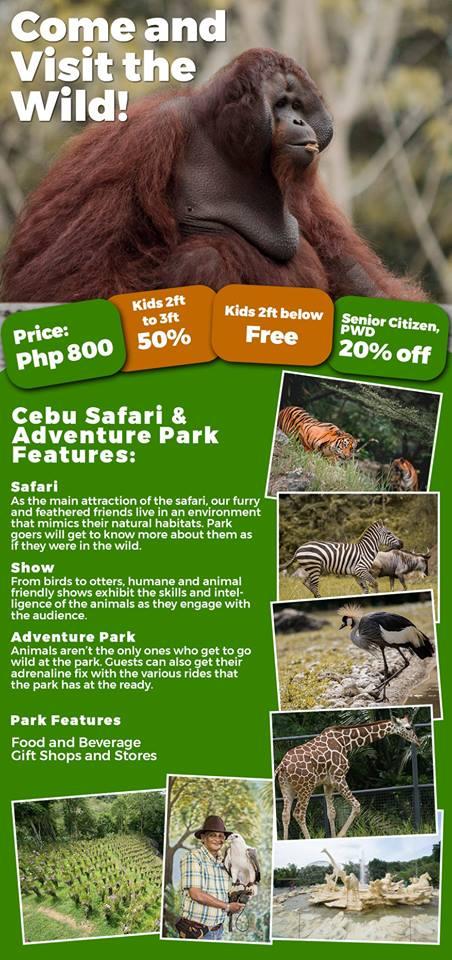 Photo from Cebu Safari & Adventure Park