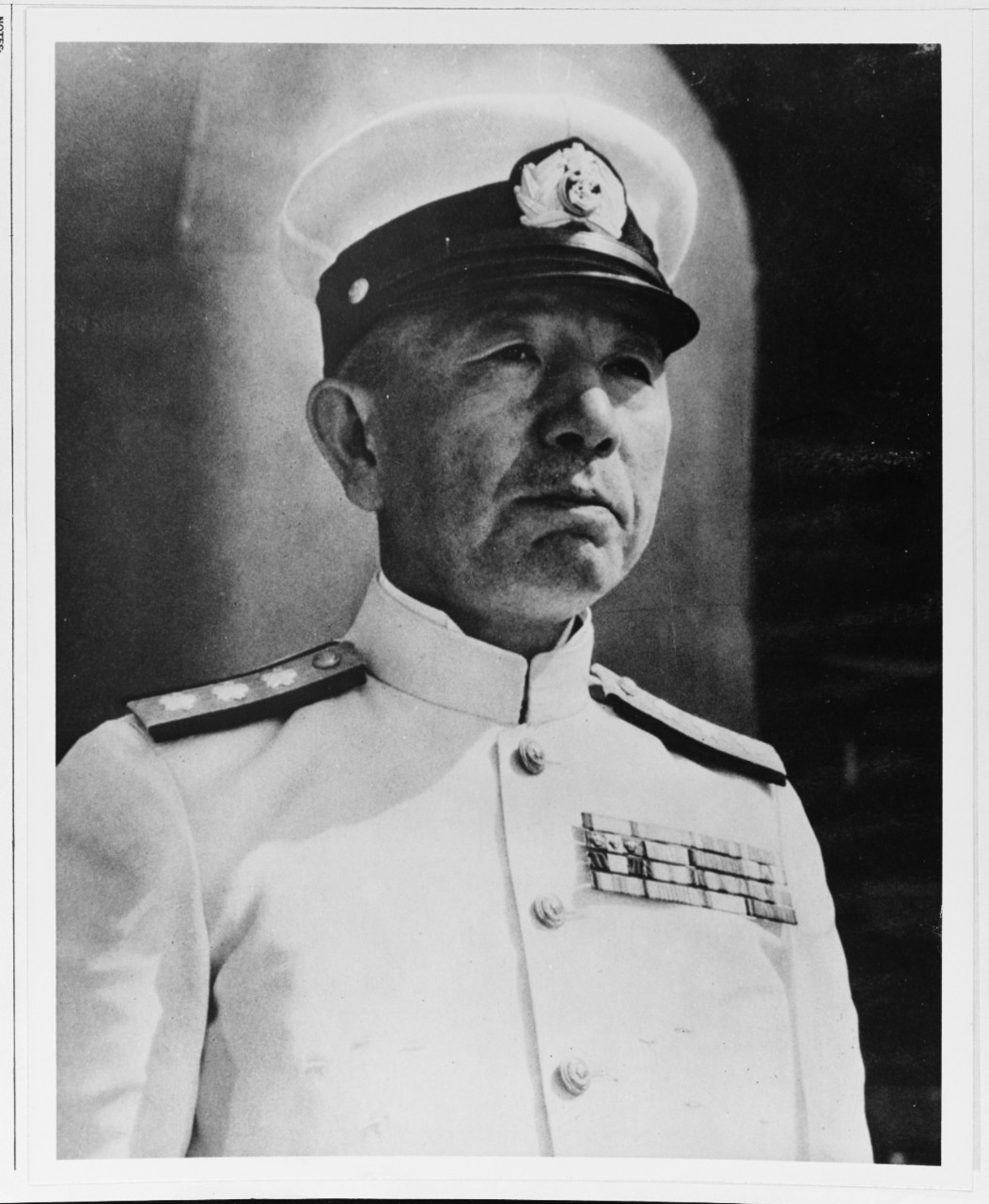 Admiral Mineichi Koga . Photo from history.navy.mil/
