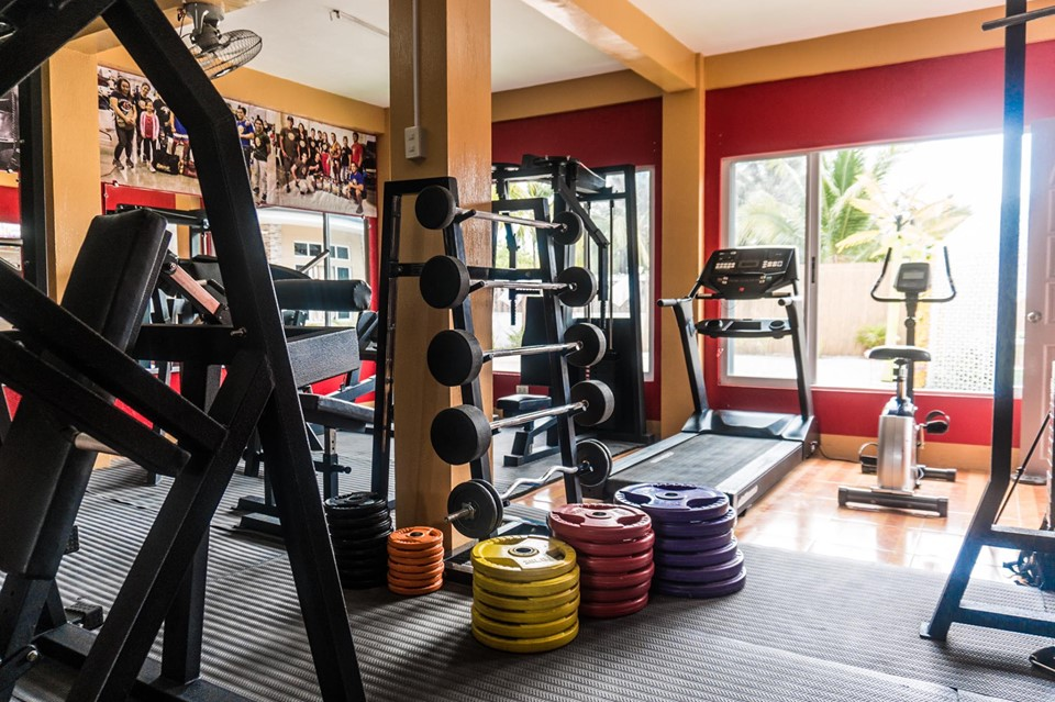 Don't miss your work out routine even while you're on a holiday at the resort's gym