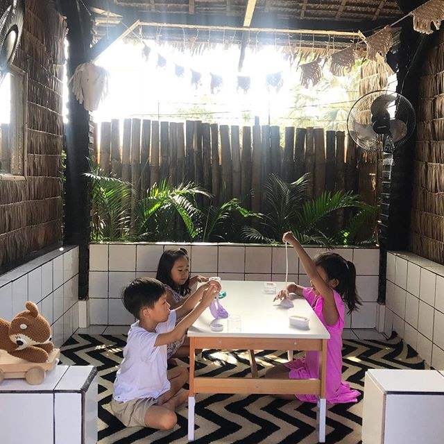 Kiddos enjoying play time in the kubo space