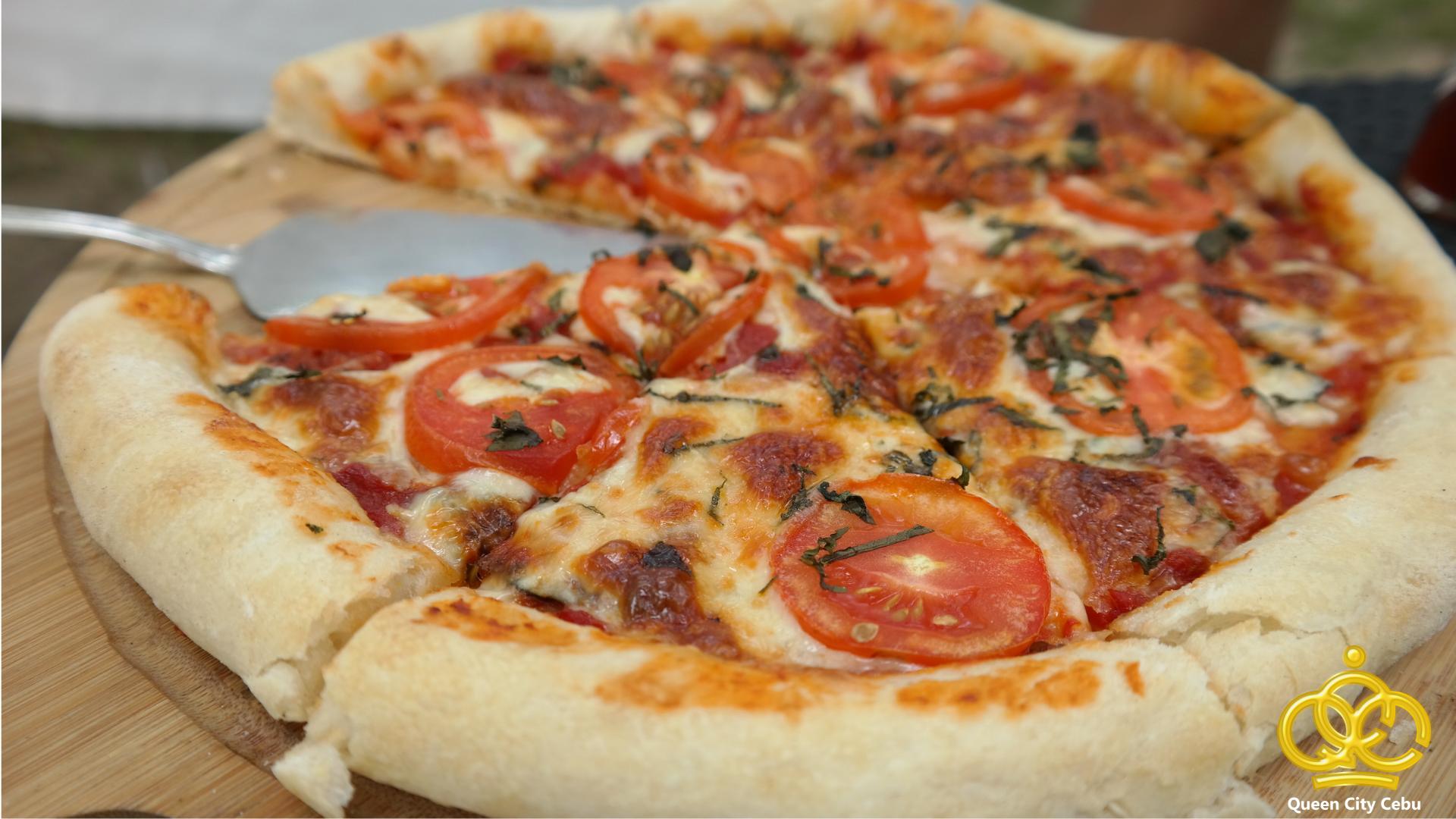 cordova reef tomatoe pizza