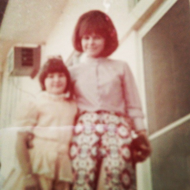 Jackie with her mom Pilita Corrales in the 70s. Photo from @jackielou.blanco