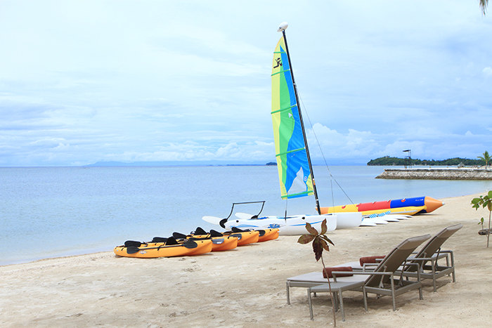 Water Sports Equipments // Photo by Kandaya Resort
